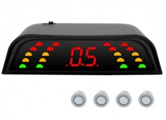 Парктроник Falkon 2630 с датчиками серебристого цвета (4 датчика)