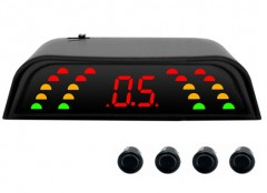 Парктроник Falkon 2630 с датчиками черного цвета (4 датчика)
