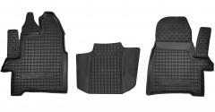 Фото 1 - Коврики в салон для Ford Tourneo Custom '13- резиновые, черные (AVTO-Gumm) 1+1