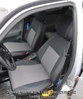 Авточехлы Premium для салона Lada (Ваз) 2111-2112 красная строчка (MW Brothers)
