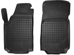 Коврики в салон передние для Audi 100 /A6 '91-97 резиновые, черные (AVTO-Gumm)