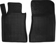Коврики в салон передние для Mercedes E-Class W211 '02-09 резиновые, черные (AVTO-Gumm)