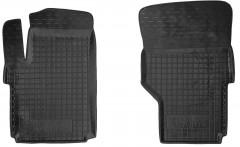 Коврики в салон передние для Volkswagen Amarok '10- резиновые, черные (AVTO-Gumm)