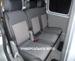 Фото 2 - Авточехлы Premium для салона Kia Rio '05-11, седан серая строчка (MW Brothers)