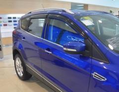 Дефлекторы окон для Ford Kuga '13- (Hic)