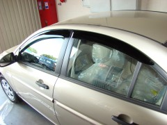 Дефлекторы окон для Hyundai Accent '06-10 (Hic)