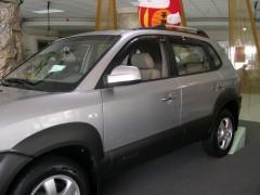 Дефлекторы окон для Hyundai Tucson '03-09 (Hic)