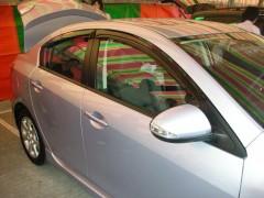 Дефлекторы окон для Mazda 3 '09-13, седан (Hic)