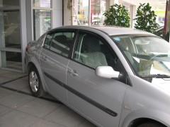 Дефлекторы окон для Renault Megane '02-08, седан (Hic)