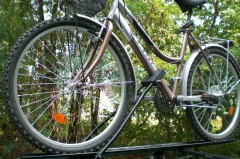 Крепление для велосипеда на крышу ВК (Десна-Авто)