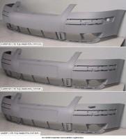 Передний бампер Volkswagen Passat B5 '00-05 без омывателя (европ. версия) (Tempest)