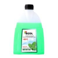 Зимний омыватель (концентрат -80C) c ароматом Альпийской Мяты BIZOL, 1л