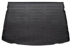 Коврик в багажник для Toyota Auris '13-, полиуретановый, черный (Nor-Plast)