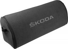 Органайзер в багажник XXL Skoda, серый