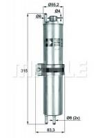 Топливный фильтр Knecht KLH 12