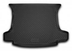Коврик в багажник для Peugeot 308 '08-13 универсал (Long), полиуретановый (Novline) черный