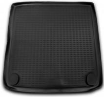 Коврик в багажник для Ssangyong Rexton II '06-12, полиуретановый (Novline) черный
