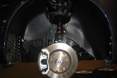 Подкрылок передний левый для Mitsubishi Lancer X (10) '07- (Novline)