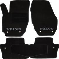 Коврики автомобильные Volvo XC 70 '07- текстильные чёрные Люкс