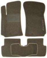 Коврики в салон для ЗАЗ Lanos / Sens текстильные, серые (Люкс)