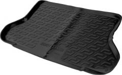 Коврик в багажник для Chevrolet Lacetti '03-12 седан, резино/пластиковый (Lada Locker)
