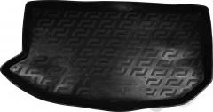Коврик в багажник для Kia Soul '09-13 (верхний), резино/пластиковый (Lada Locker)