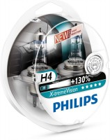 ������������� �������� Philips X-tremeVision +130% H4 12V 60/55W (�������� 2��.)