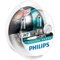 ������������� �������� Philips X-tremeVision +130% H7 12V 55W (��������: 2 ��.)