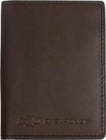 """Обложка для документов темно-коричневая """"Chevrolet"""""""