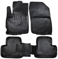 L.Locker Коврики в салон для Peugeot 4008 '12- полиуретановые 3D черные (L.Locker)