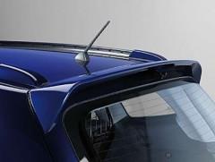 Задний спойлер на багажник для Hyundai Santa Fe '06-10 CM, темный (EGR)