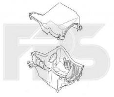 Корпус воздушного фильтра с крышкой Ford C-Max '07-10 (FPS)