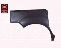 Ремонтная часть заднего крыла для Renault Kangoo '03-09, 4 дв., арка, правая (KLOKKERHOLM)