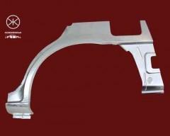 Ремонтная часть заднего крыла для Mazda 626 '97-00 (GF) седан/хетчбек, арка, цинк, левая (KLOKKERHOLM)