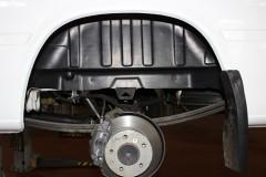 Подкрылок задний левый для Mercedes Sprinter '06-, двускатный (Novline)