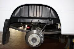 Подкрылок задний правый для Mercedes Sprinter '06-, двускатный (Novline)