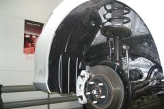Подкрылок передний левый для Toyota Camry V50 '11- (Novline)