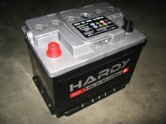 Автомобильный аккумулятор SADA HARDY SP 62Ач, левый плюс