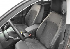 Авточехлы Leather Style для салона Volkswagen Passat B7 '10-14, универсал (MW Brothers)