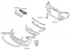 Передняя панель для Hyundai Getz '05-11 (FPS)