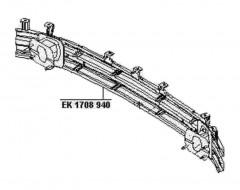 Шина переднего бампера для Chevrolet Aveo '06-11 (FPS)