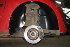 Подкрылок задний левый для Peugeot 107 '09- (Novline)
