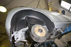 Подкрылок задний правый для Citroen C1 '05-14 (Novline)