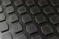 Фото 2 - Коврики в салон для Renault Captur '13-, полиуретановые, черные (Lada Locker)