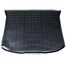 Коврик в багажник для Ford Edge '14-, полиуретановый черный (Nor-Plast)
