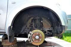 Подкрылок передний правый для Mitsubishi Pajero Sport 2 '08-16 (Novline)