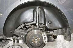 Фото 3 - Подкрылок задний левый для Mitsubishi Lancer X (10) Sportback '07- (Novline)