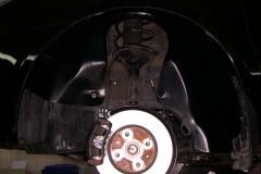 Подкрылок задний левый для Geely MK Sedan '06-14 (Novline)