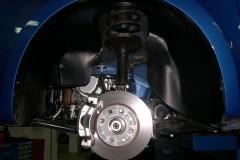 Фото 3 - Подкрылок передний левый для Chevrolet Aveo (T250) '04-06, седан, (Novline)