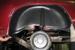 Подкрылок задний левый для Daewoo Nexia '95- (Novline)